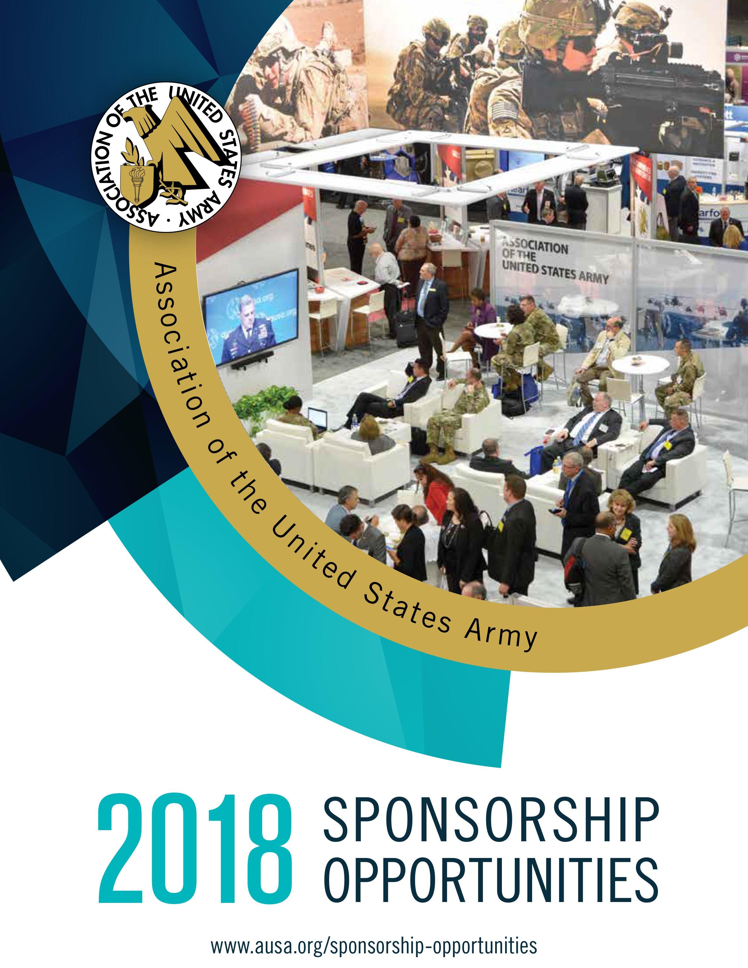 AUSA Sponsorship Opportunities Brochure Cover