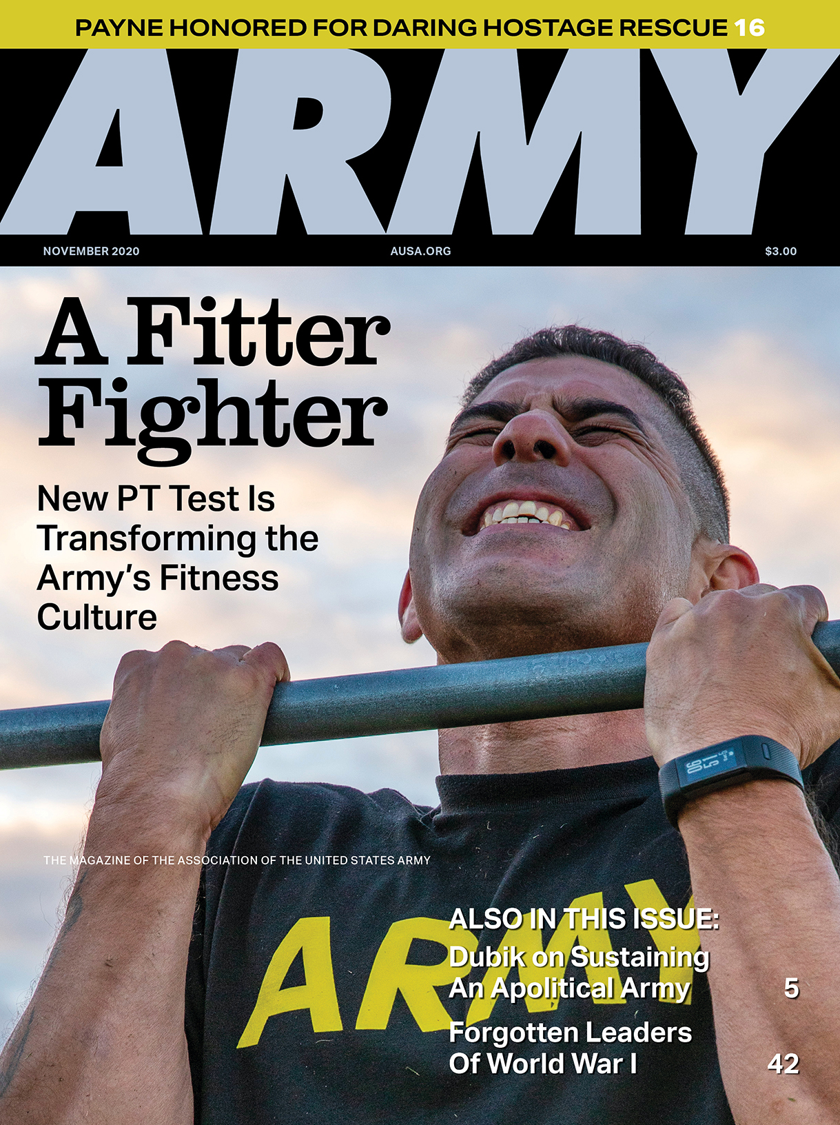 ARMY magazine Vol. 70, No. 11, November 2020
