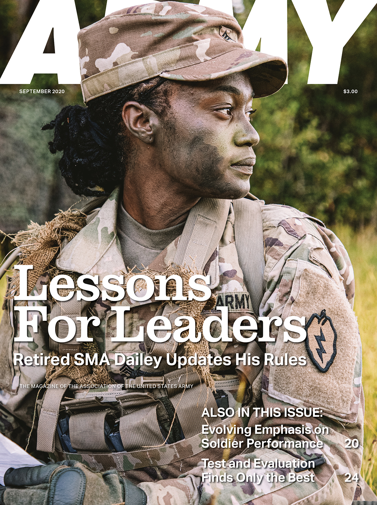 ARMY Magazine Vol. 70, No. 9, September 2020