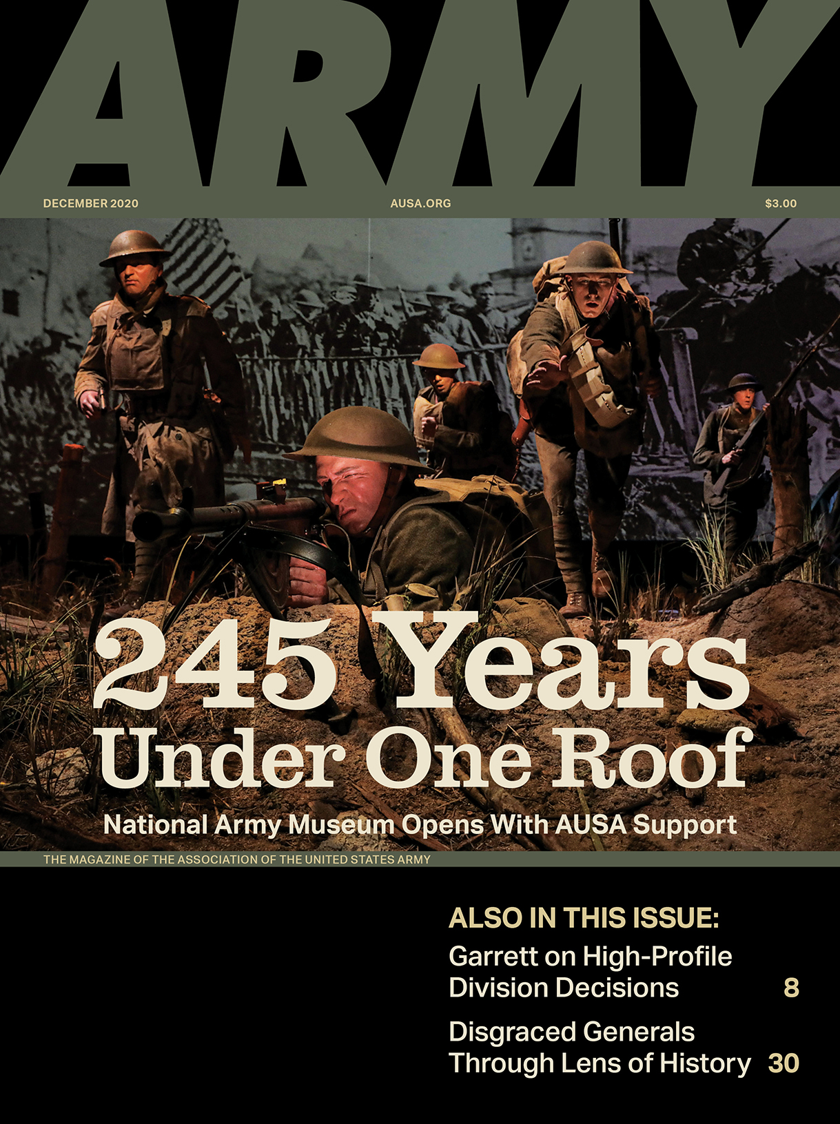 ARMY Magazine Vol. 70, No. 12, December 2020