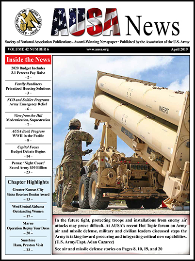 AUSA News April 2019 Cover