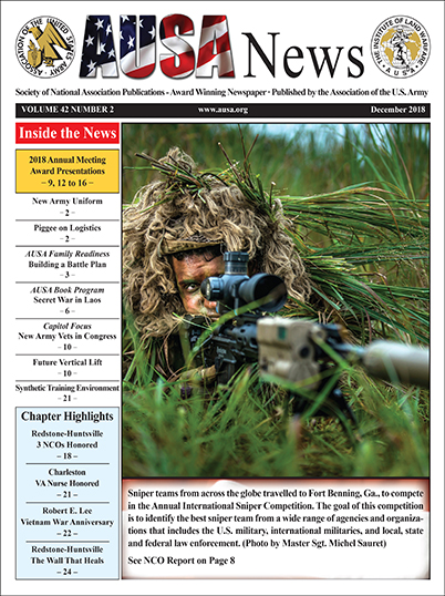 AUSA News December 2018 Cover