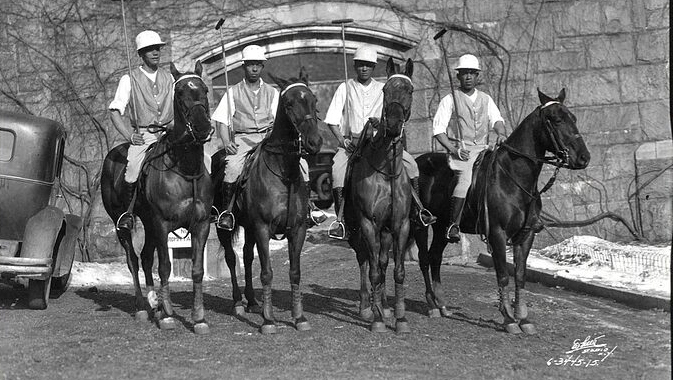 Buffalo soldier assn polo players