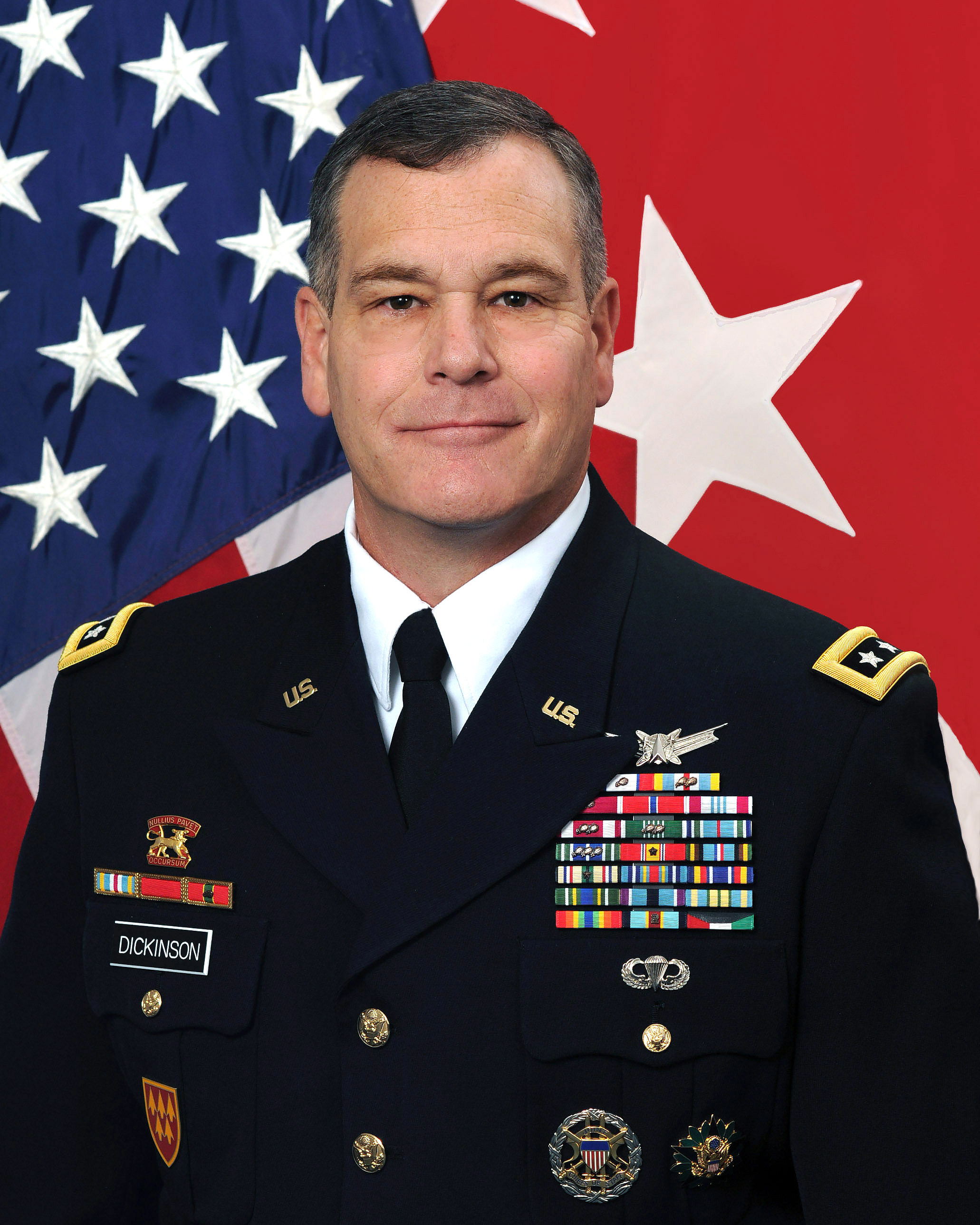 LTG James H. Dickinson, Commanding General U.S. Army Space and Missile Defense Command