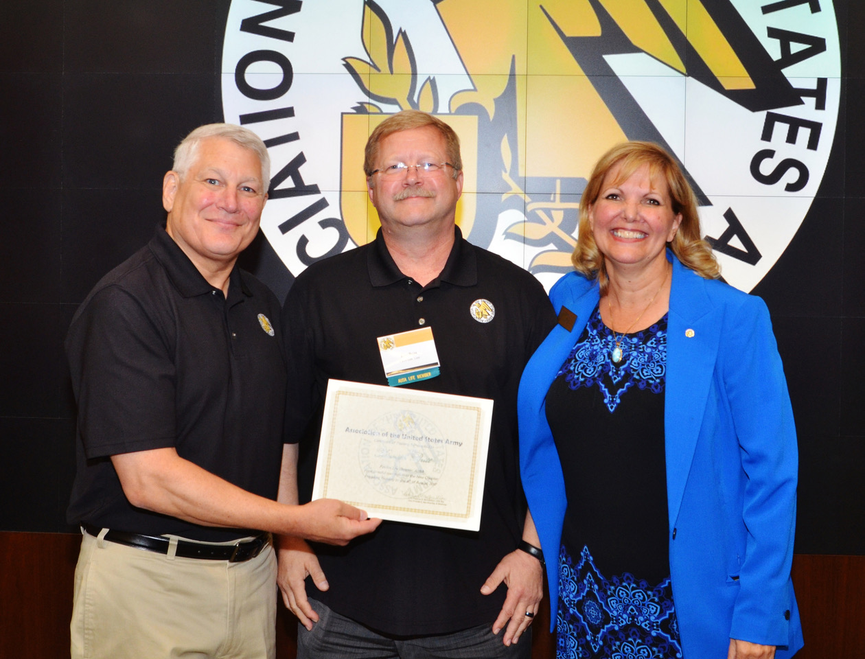 AUSA Fairfax Lee President Ken Britt Completes Chapter President Training