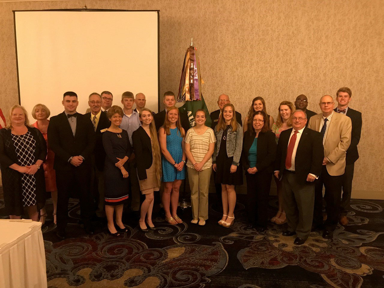 AUSA Fairfax Lee Chapter Scholarship Ceremony