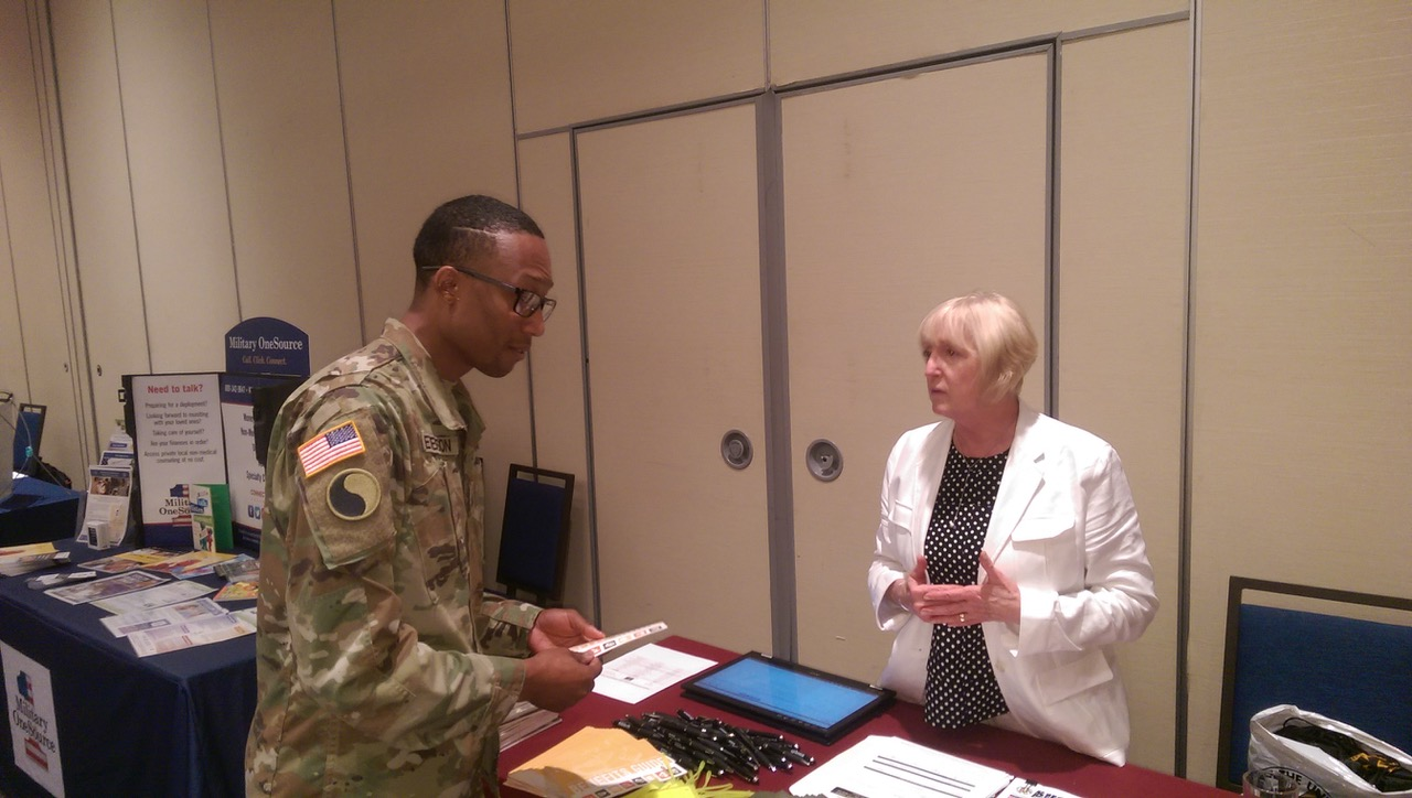 AUSA Fairfax Lee Chapter Supports 29th Infanty Division Yellow Ribbon Event