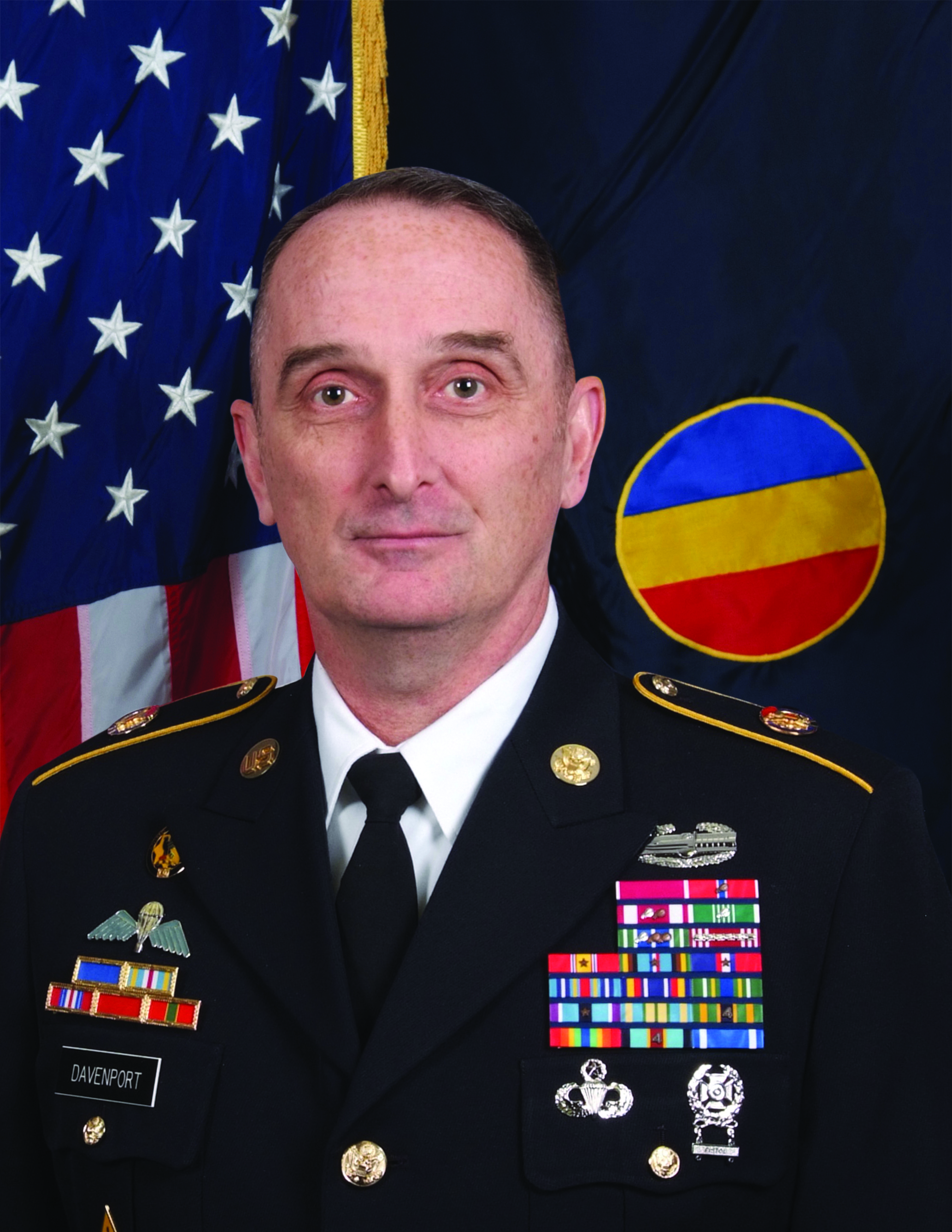 CSM David Davenport