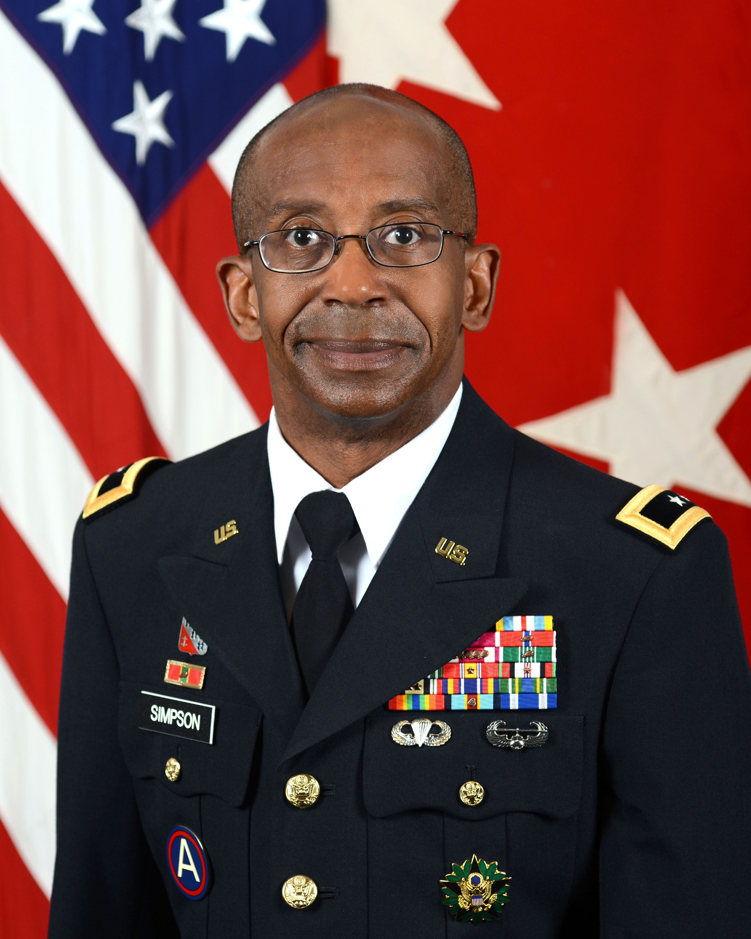 MG James E Simpson, CG US Army Contracting COmmand