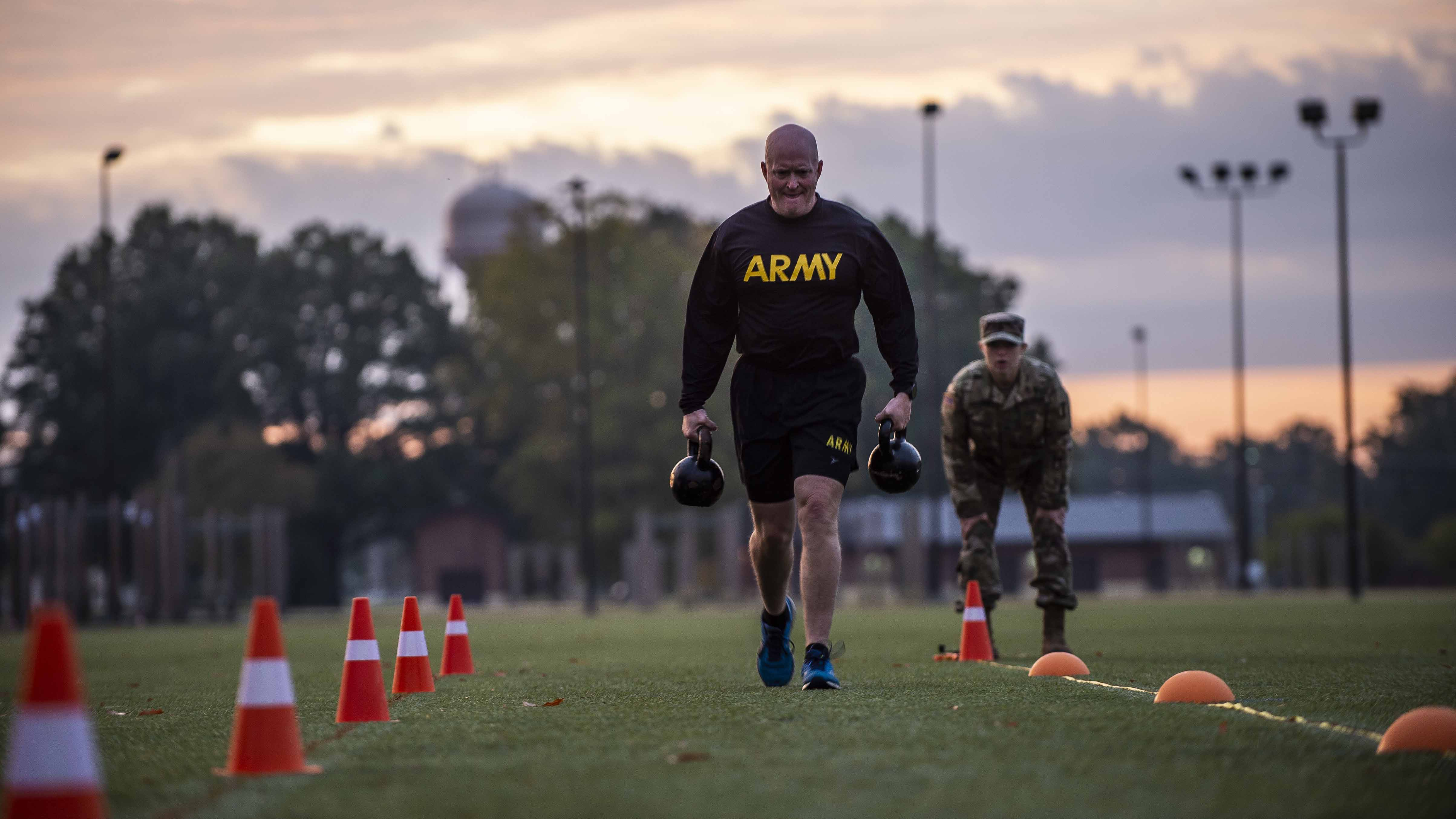 soldier fitness training