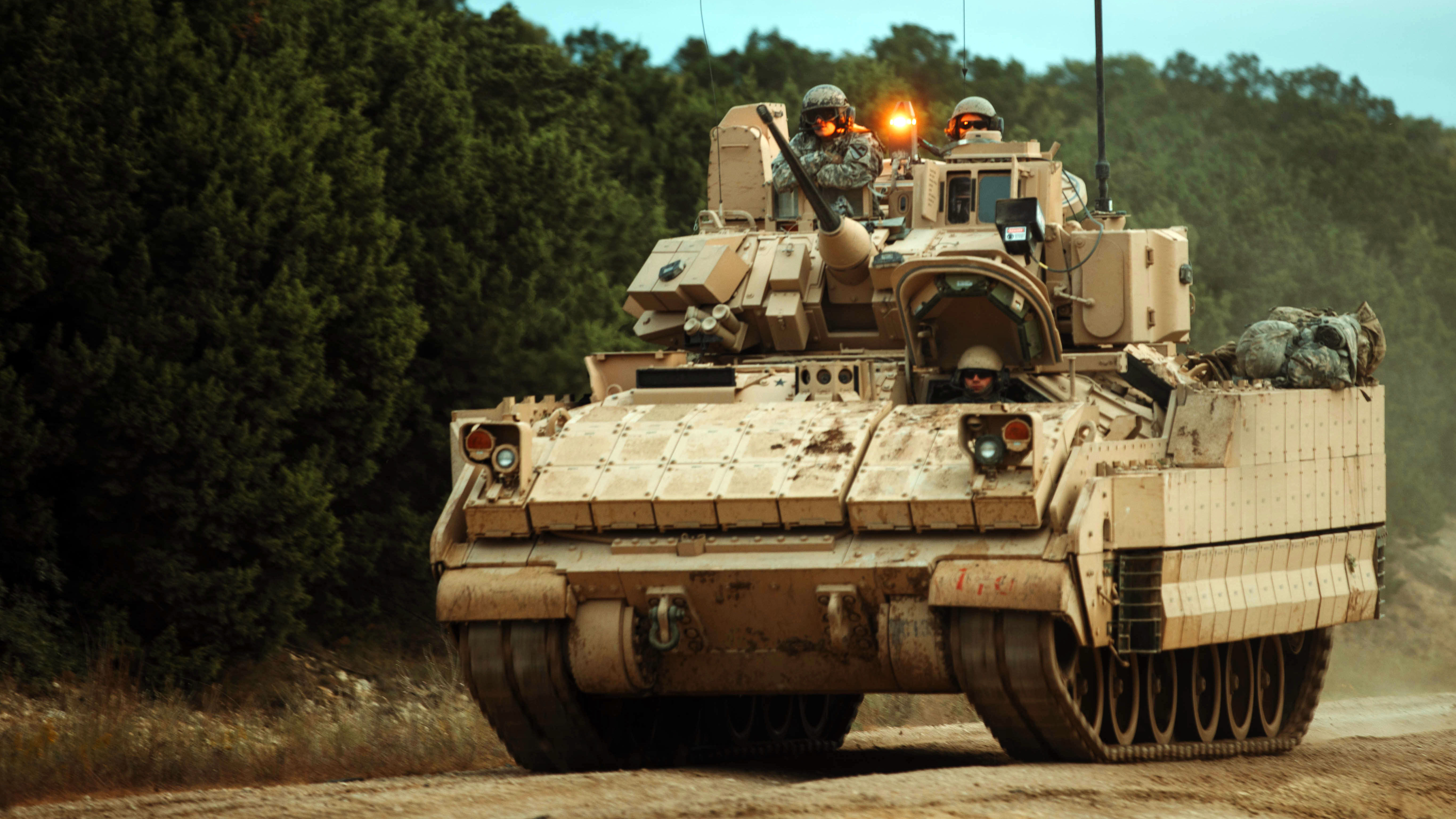 Bradley infantry fighting vehicle