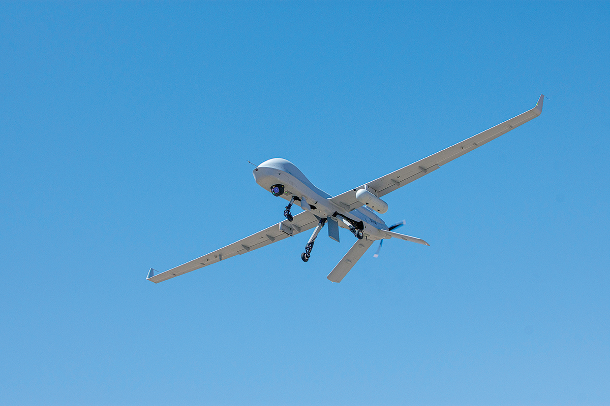 ER/MP UAS seen during Project Convergence 20