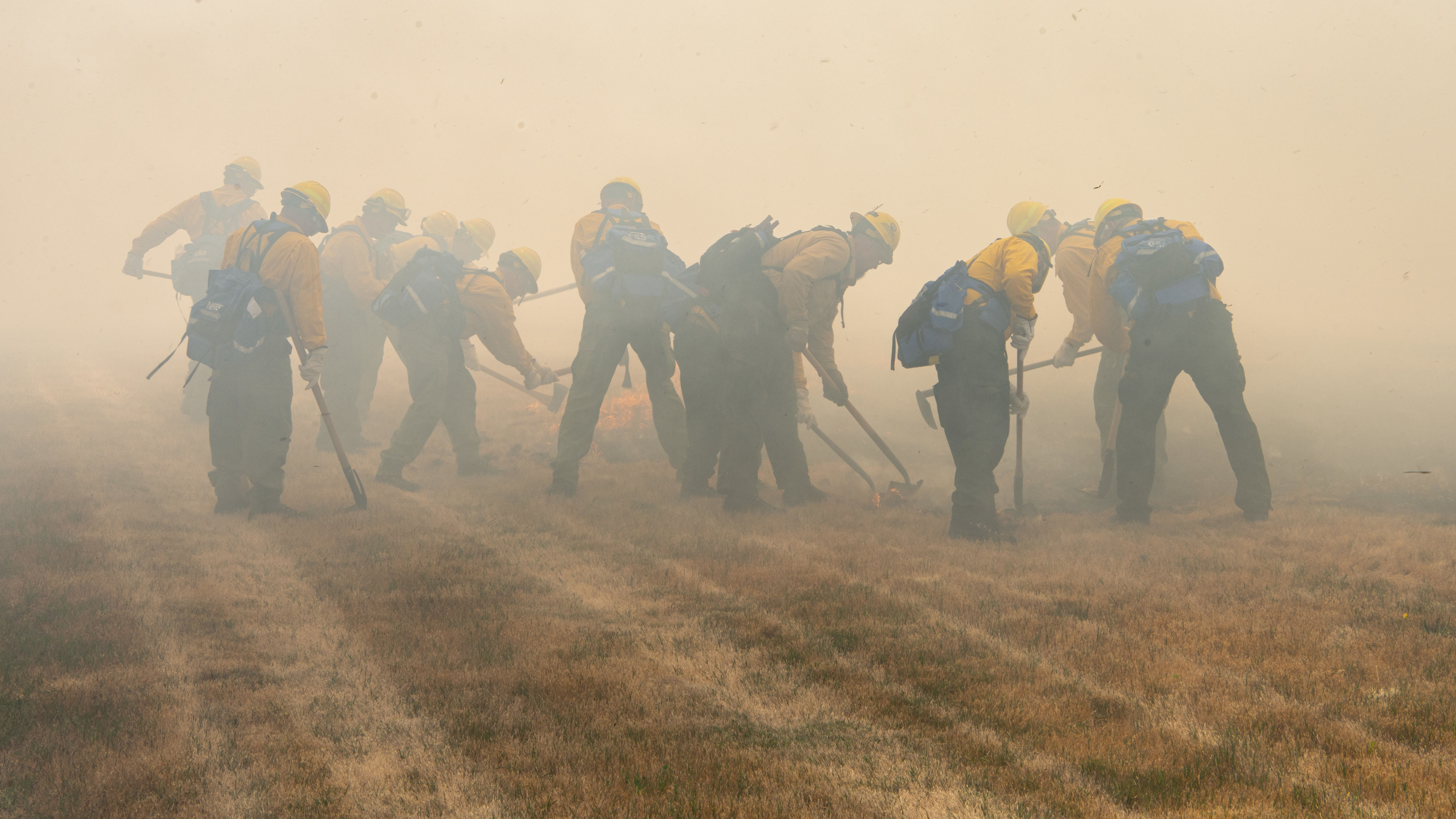 National Guard Battles Blazes Across the Country