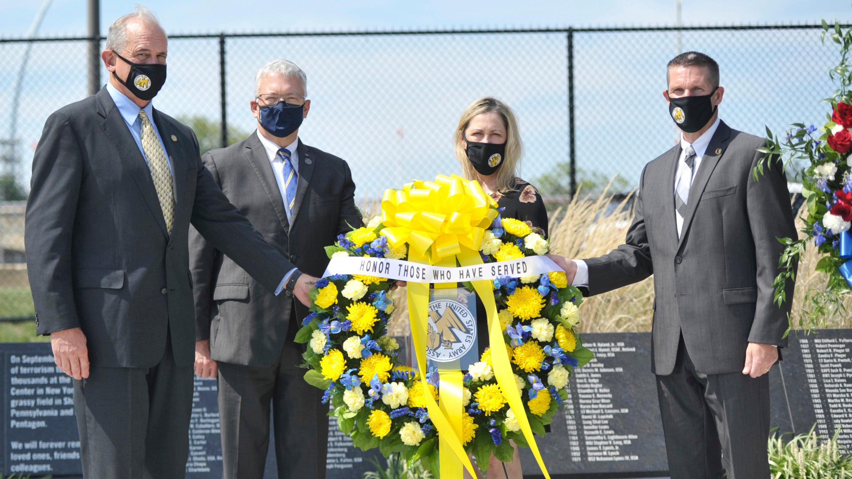 AUSA Honors the Fallen at Pentagon 9/11 Memorial