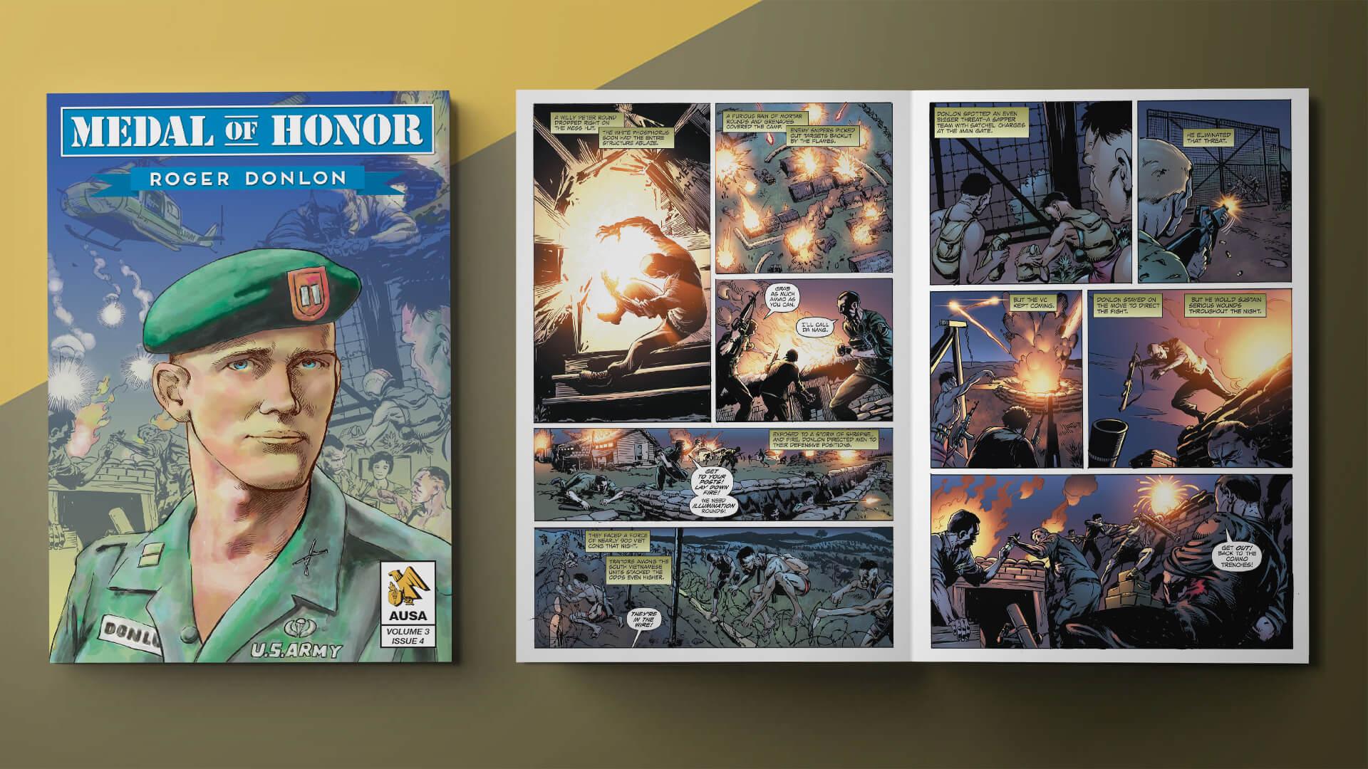 New Graphic Novel Features Vietnam, Green Beret Hero