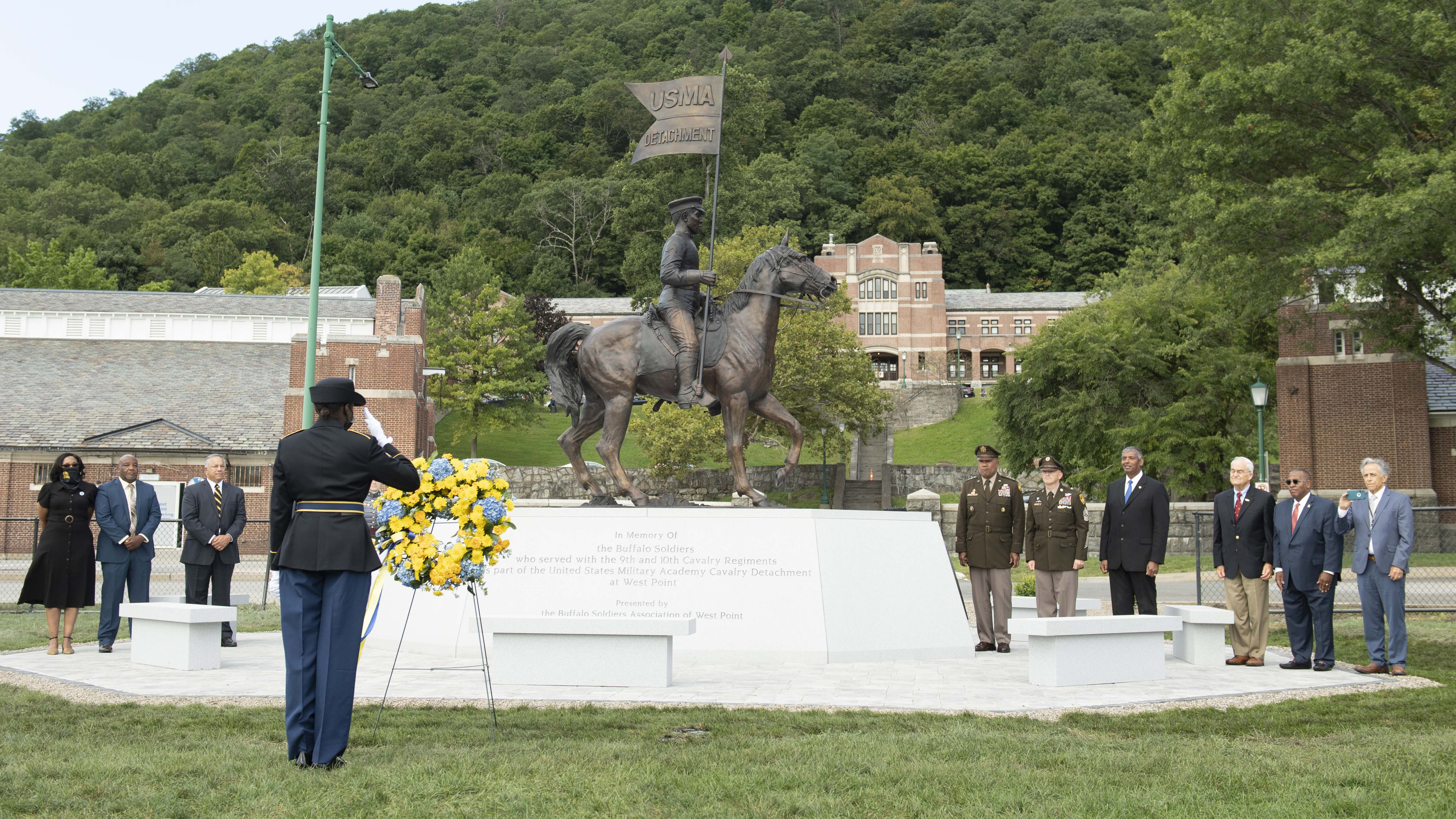 New West Point Monument Honors Buffalo Soldiers