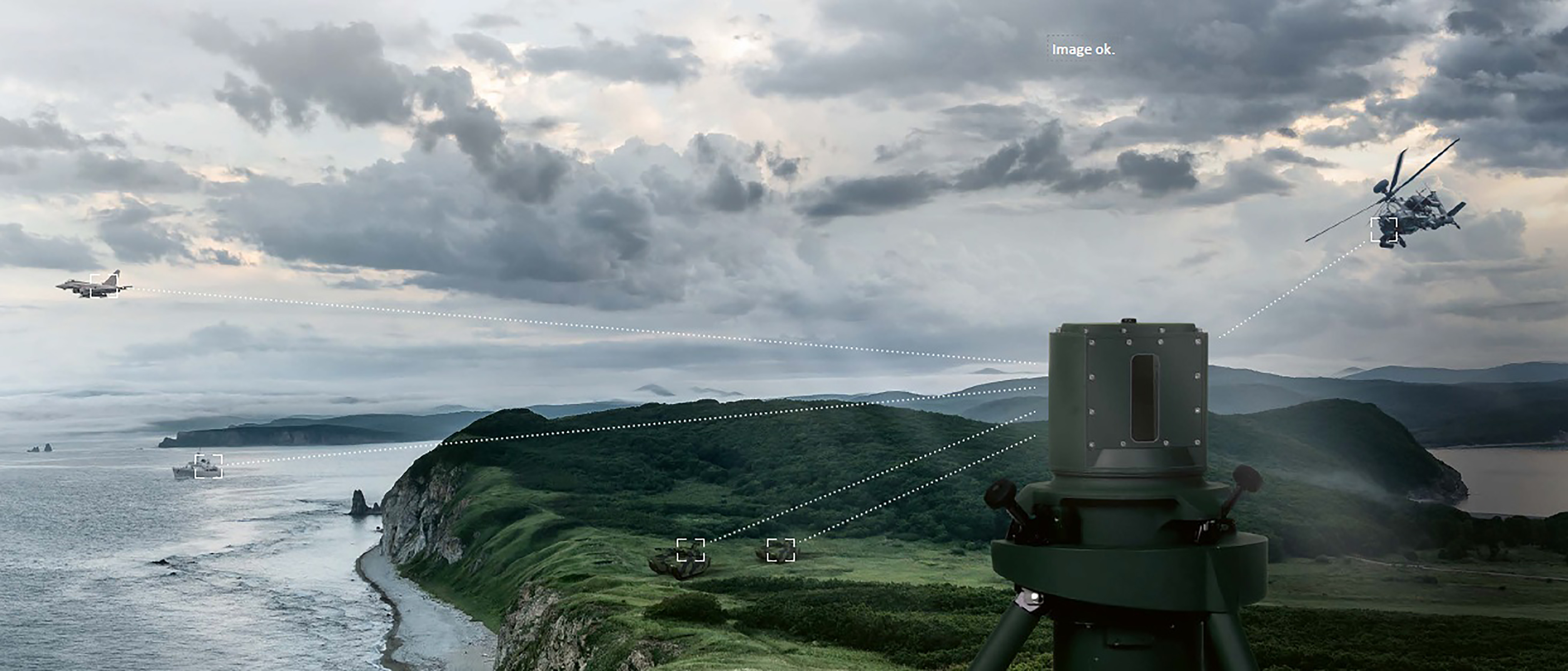 Rheinmetall's Fast Infrared Search and Track Reconnaissance Sensor
