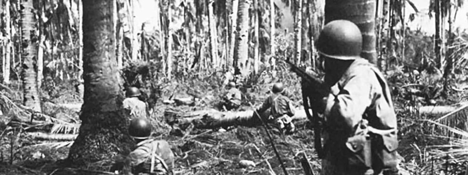 US Soldiers in Pacific