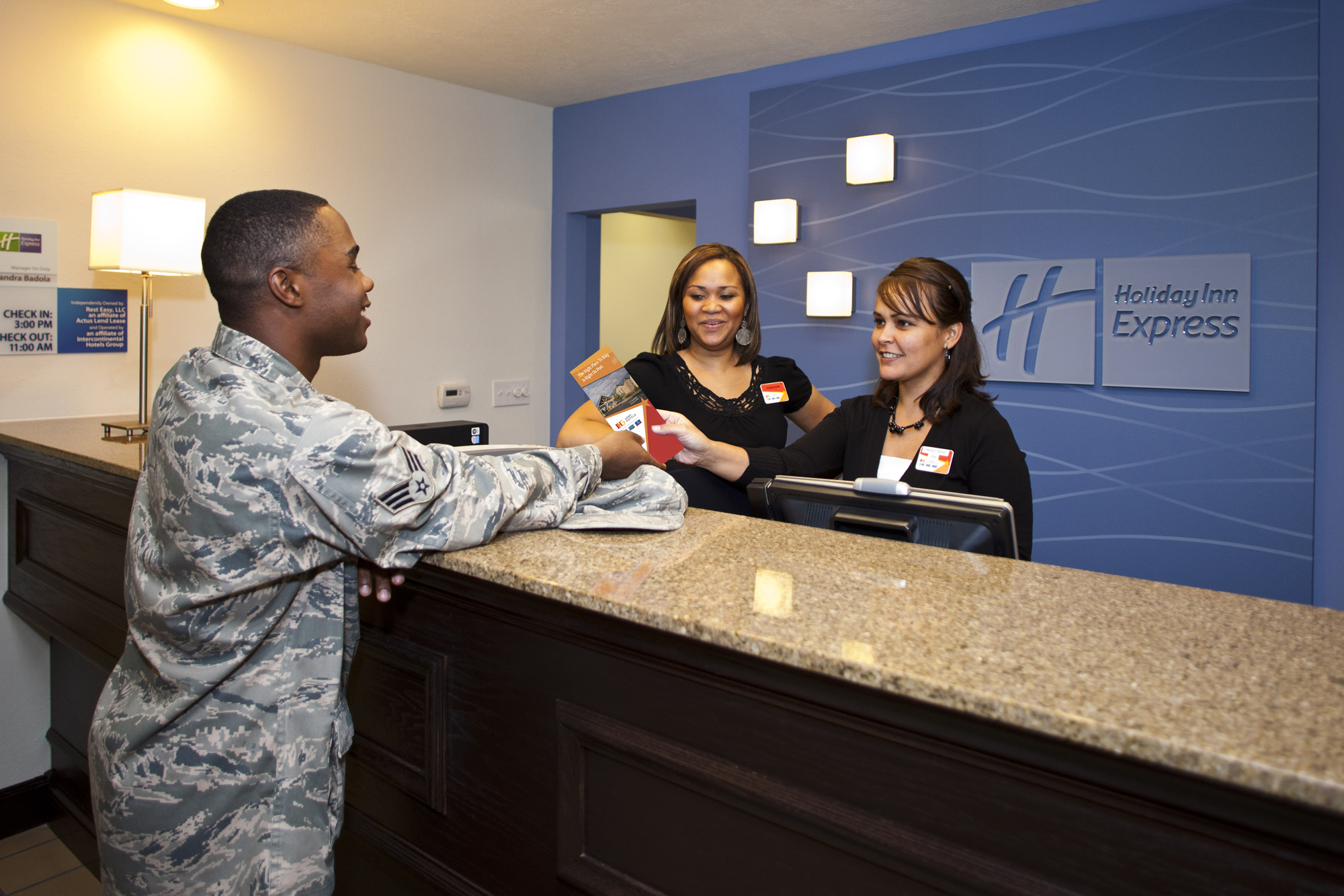 Intercontinental Hotels Group Ociation Of The United States Army Holiday Inn Express