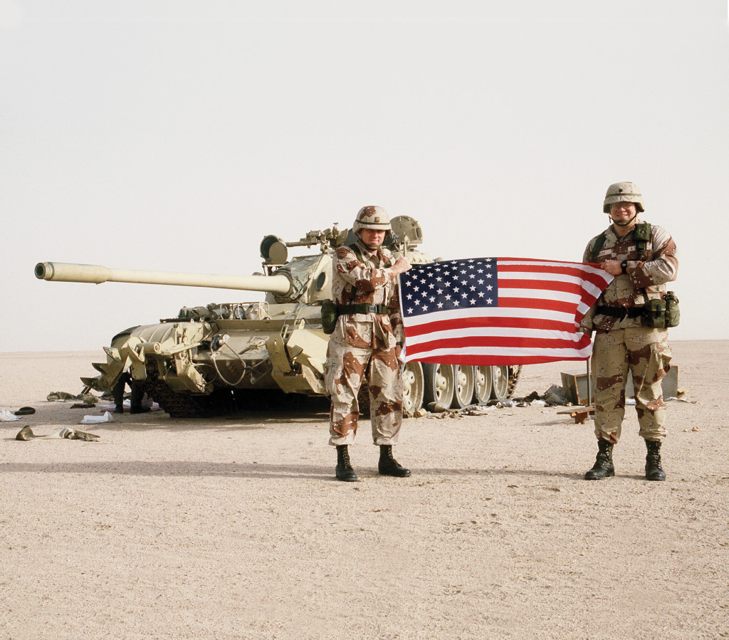 an overview of the iraqi occupation of kuwait in the gulf war Read cnn's fast facts about the 1990-1991 persian gulf war, an international conflict codenamed operation desert shield and operation desert storm.