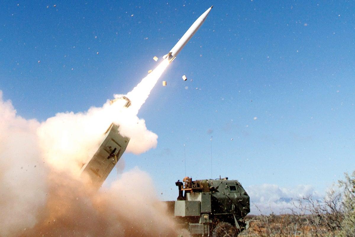 Precision Strike Missile launch