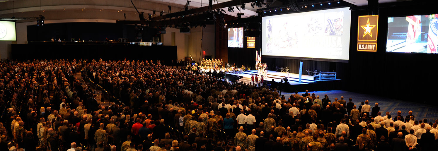AUSA Annual Meeting Opening Ceremony Photo