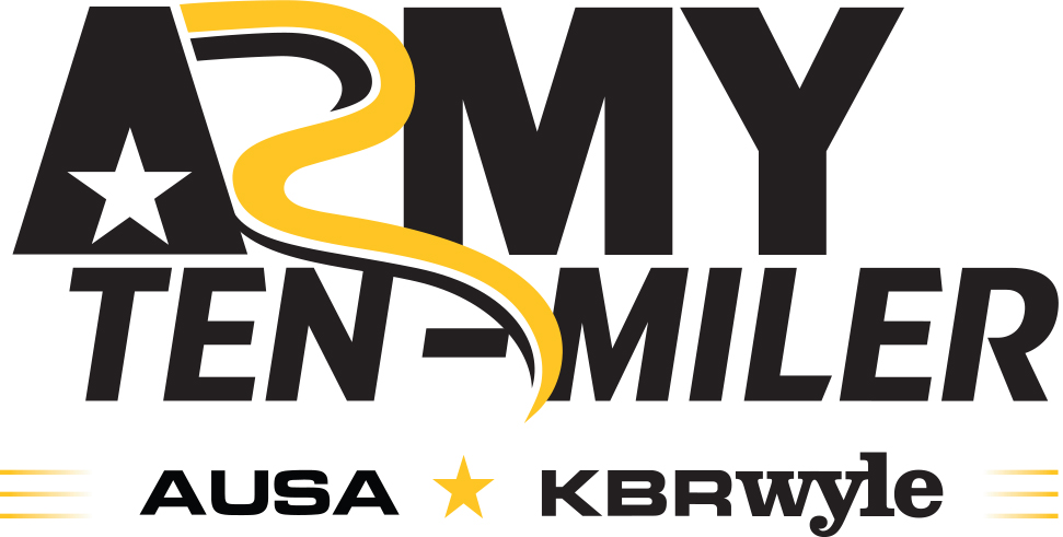 Army Ten Miler Logo with AUSA and KBRWyle