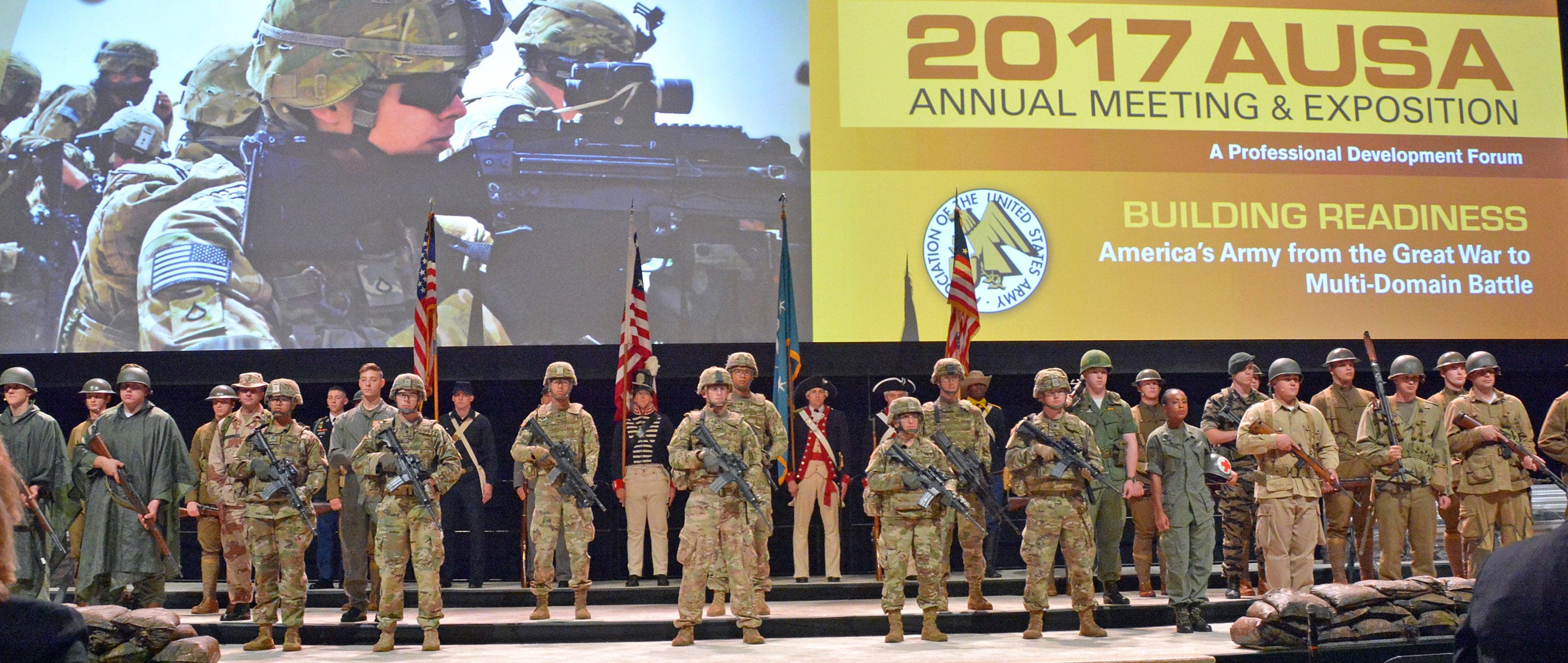 Annual Meeting theme: 'Ready Today, More Lethal Tomorrow'   AUSA