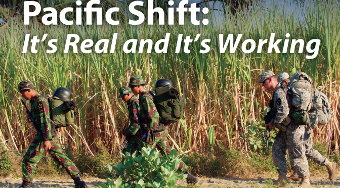 Pacific Shift: It's Real and It's Working   AUSA