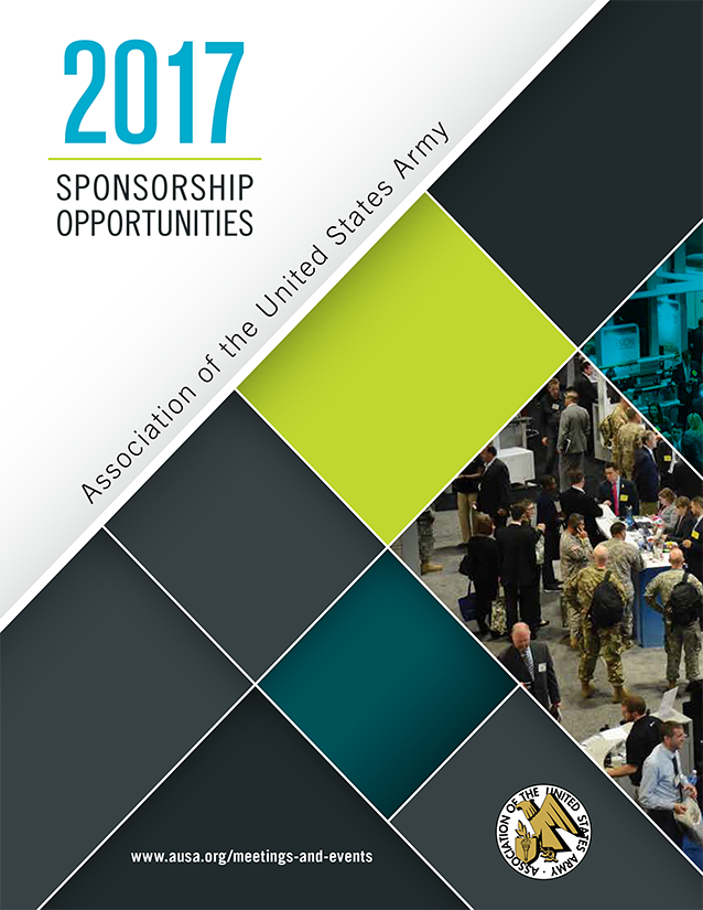 AUSA Sponsorship Opportunities Prospectus Cover