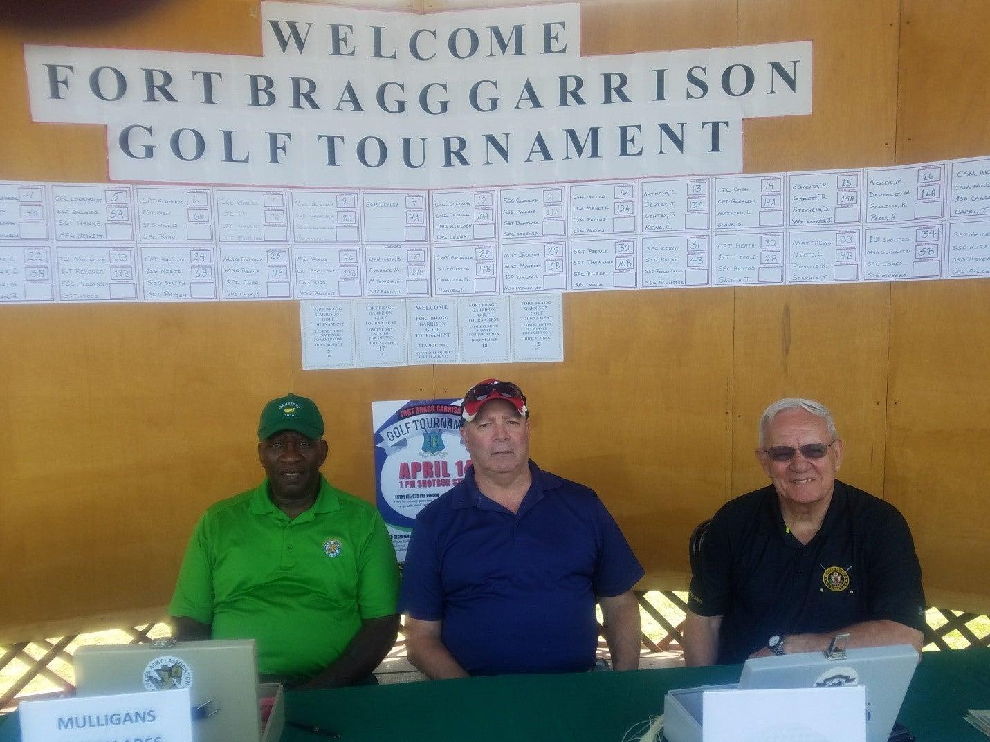 AUSA Chapter Support Team at Fort Bragg Garrison Golf Tournament