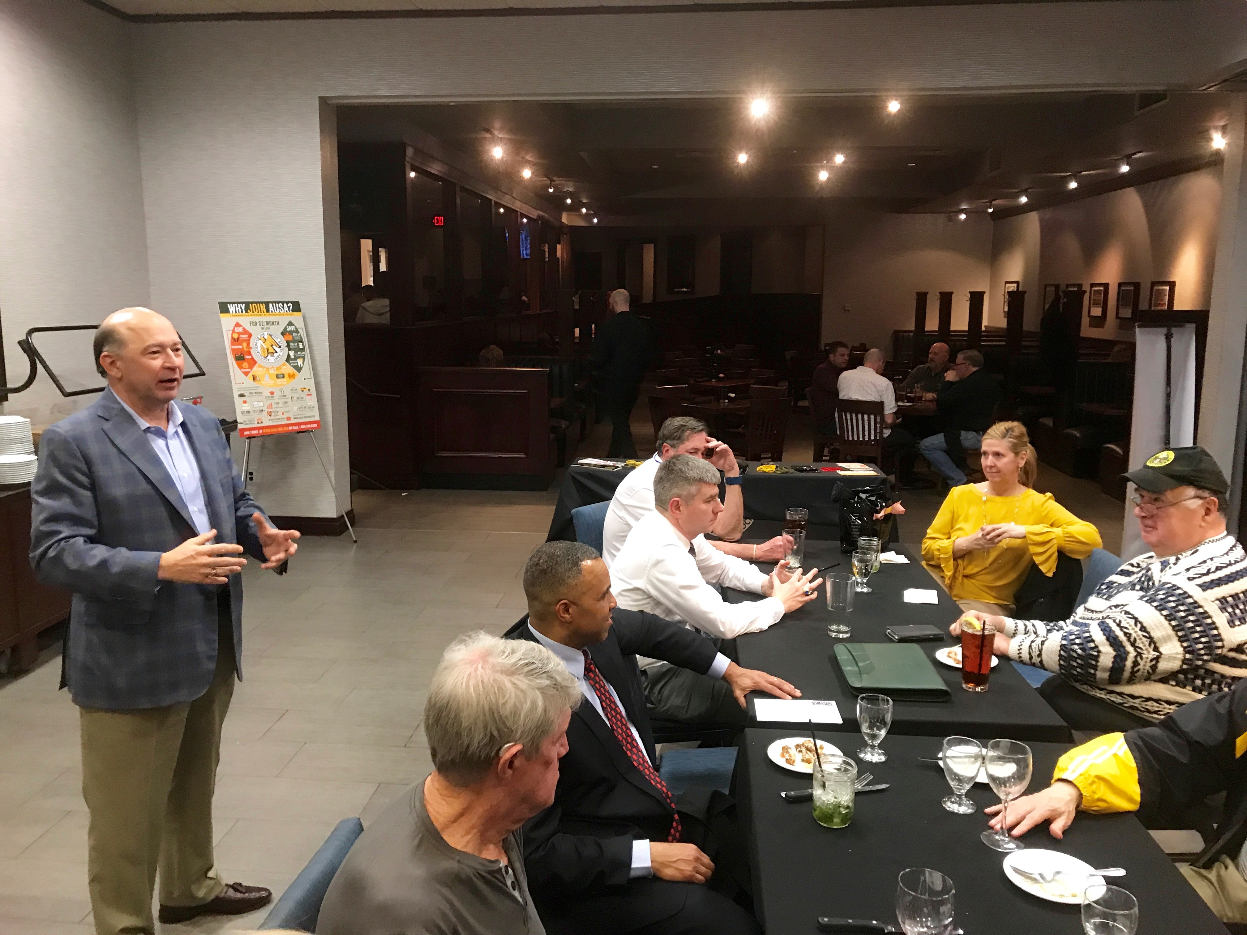 Fairfax Lee Last Wednesday February 2018 Meeting