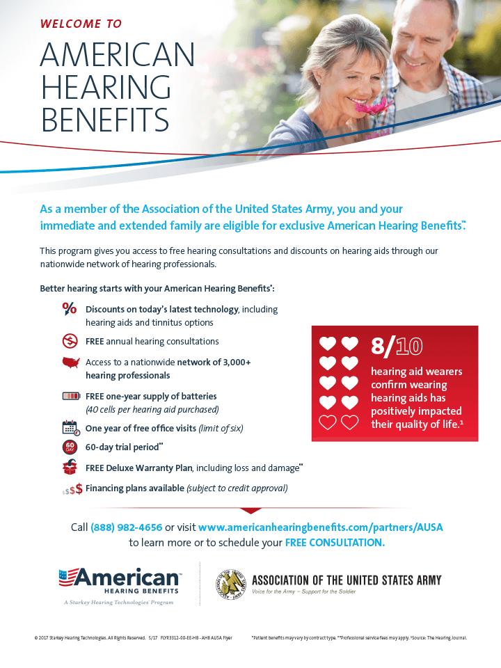 American Hearing Benefits Flyer