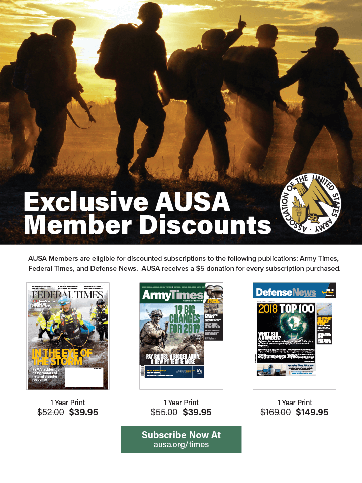 Army Times Benefits Flyer
