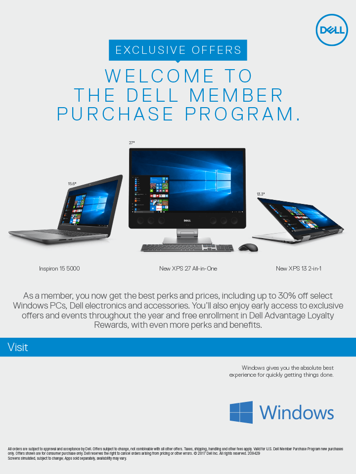 Dell Benefits Flyer