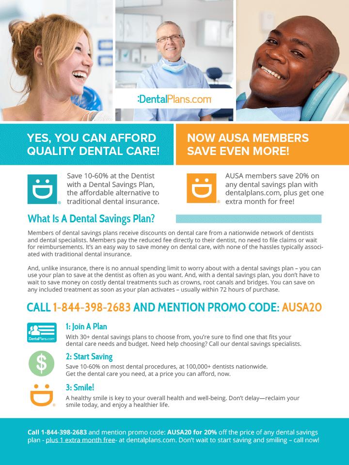 Dental Plans Benefits Flyer