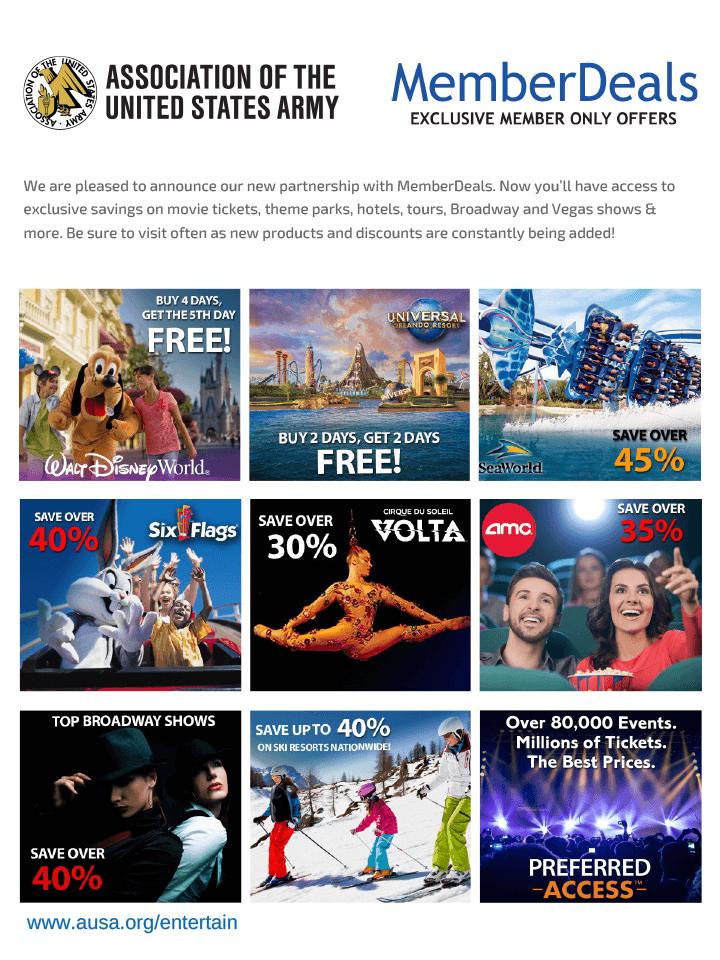Entertainment Benefits Flyer