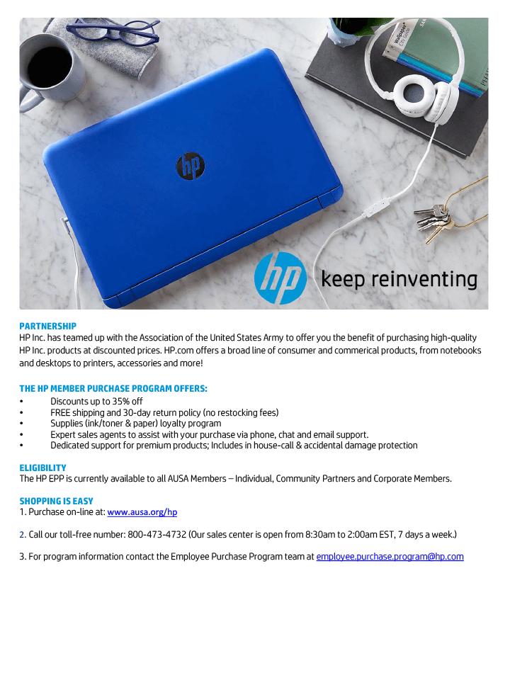 HP Benefits Flyer