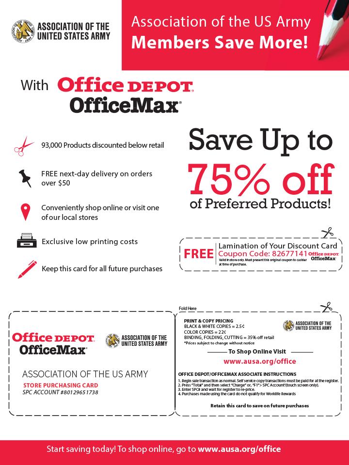 Office Depot Benefits Flyer