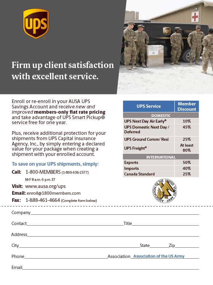 UPS Benefits Flyer