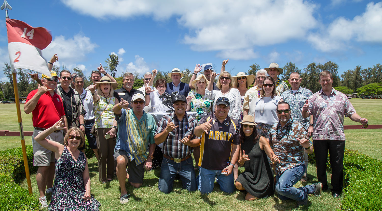AUSA Hawaii Chapter Polo Match