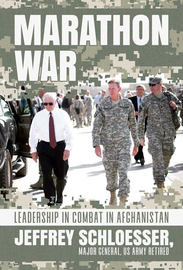 Marathon War Book Cover