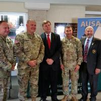 AUSA Redstone Huntsville Chapter 115th Expeditionary Signal Battalion Deployment Ceremony