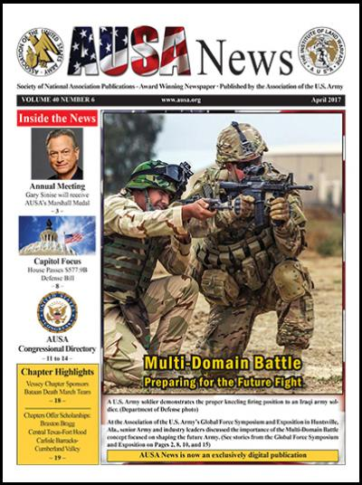 AUSA News April 2017 Cover