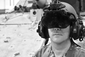 Elbit System's IronVision headset.