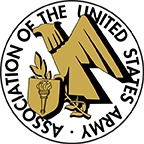 Association of the United States Army Logo - Eagle with Shield, Torch, Olive Branch