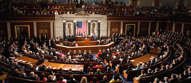U.S. congressional speech to join session